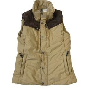 The North Face Cryptic Puffy Vest Fleece Lined S